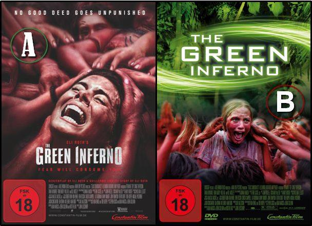 The Green Inferno: Neues Cover für Heimkinoveröffentlichung + neuer Teaser