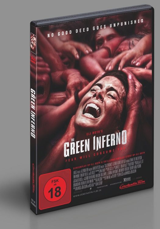 The Green Inferno - DVD Cover