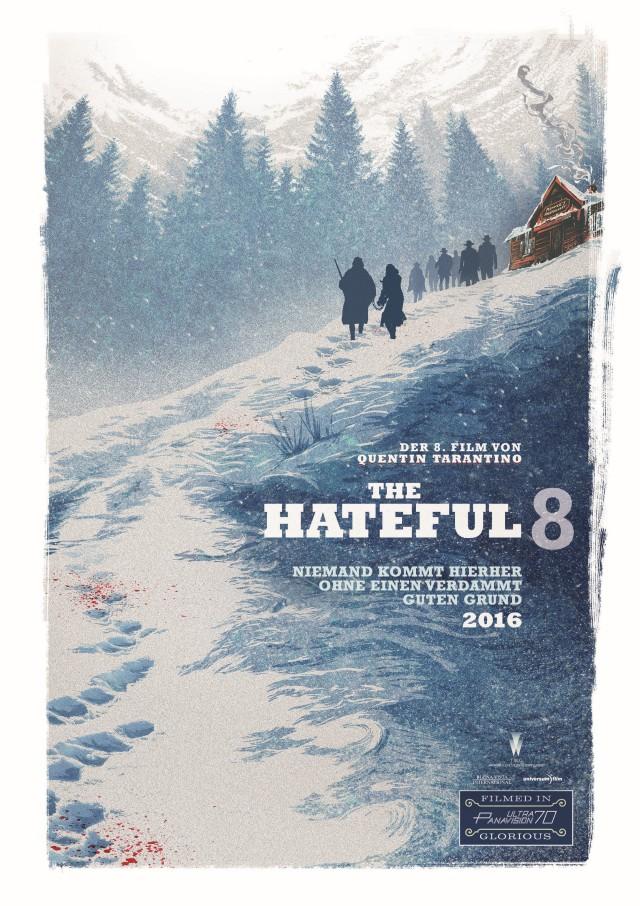 The Hateful Eight - Deutscher Kinostart - Teaser Poster