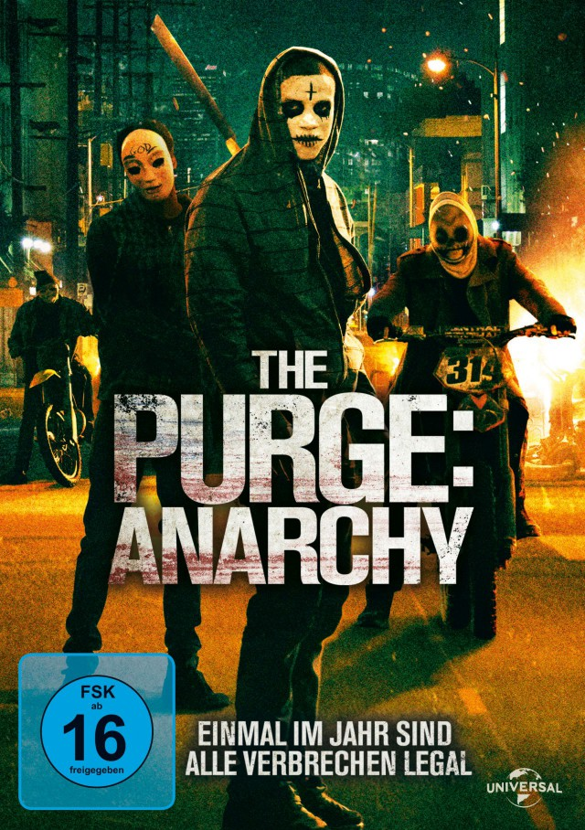 The Purge - Anarchy - DVD Cover