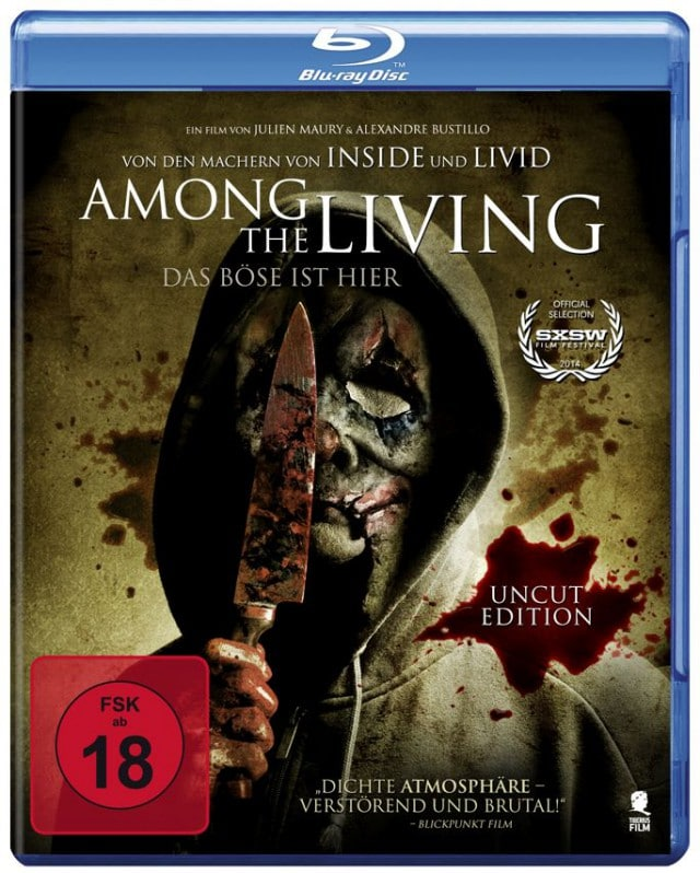 Among the Living - Blu-ray Cover FSK 18
