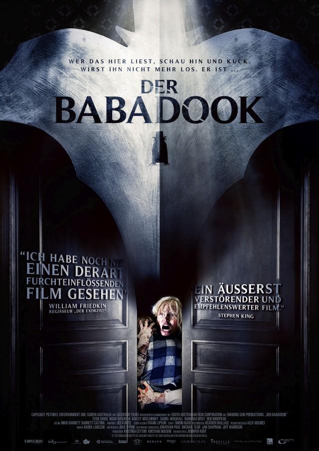Der Babadook - Deutsches Kinoposter