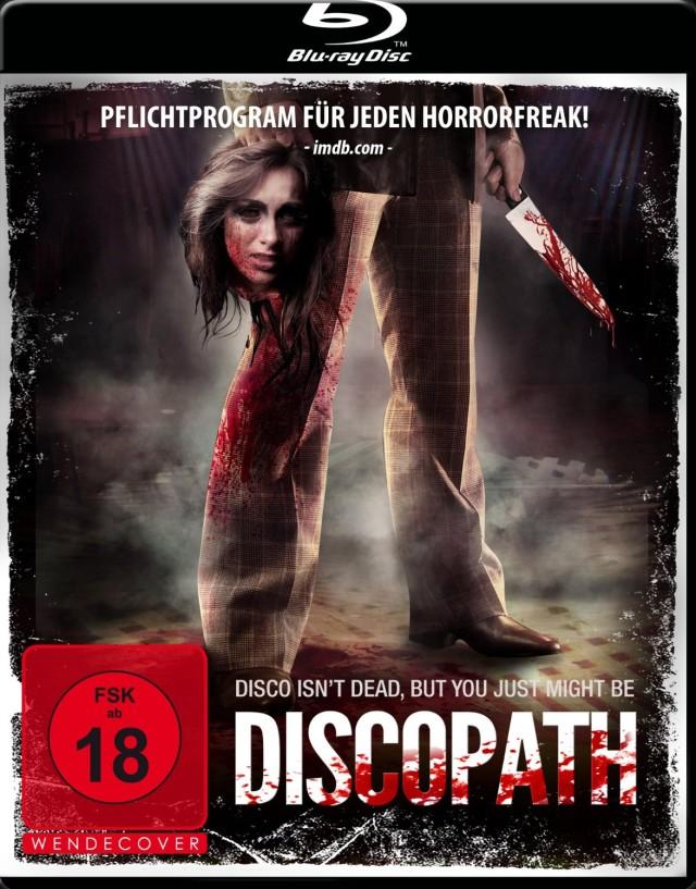 Discopath - Blu-ray Cover FSK 18