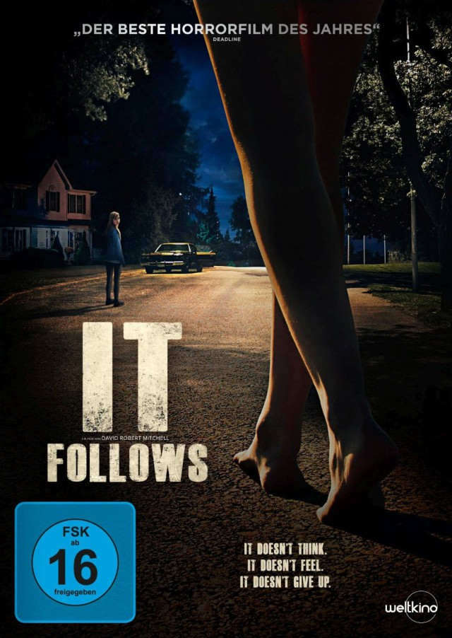 It Follows - DVD Cover FSK 16