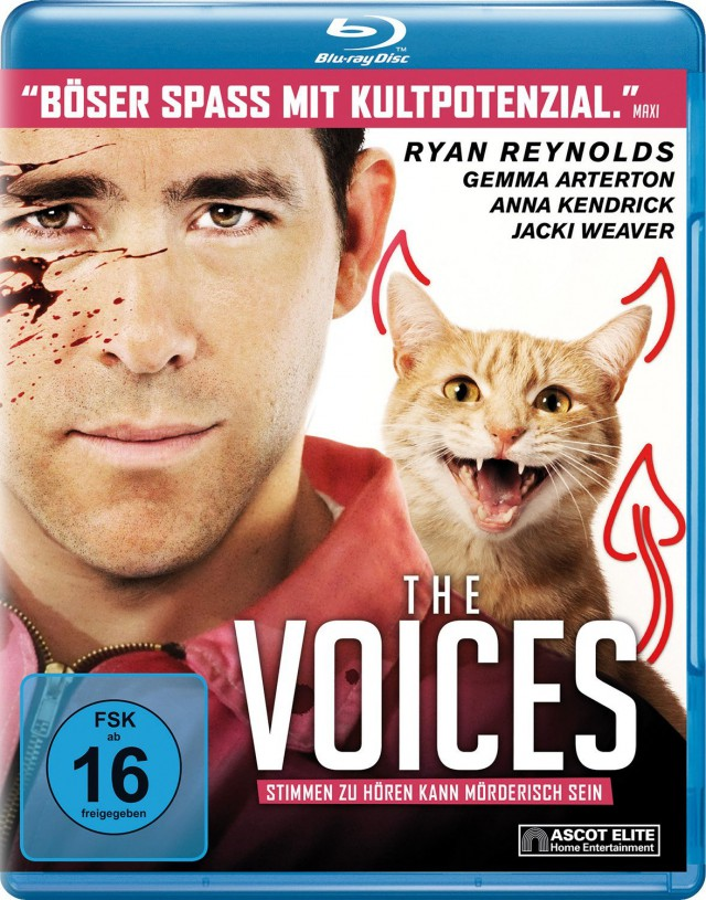 The Voices - Blu-ray Cover FSK 16
