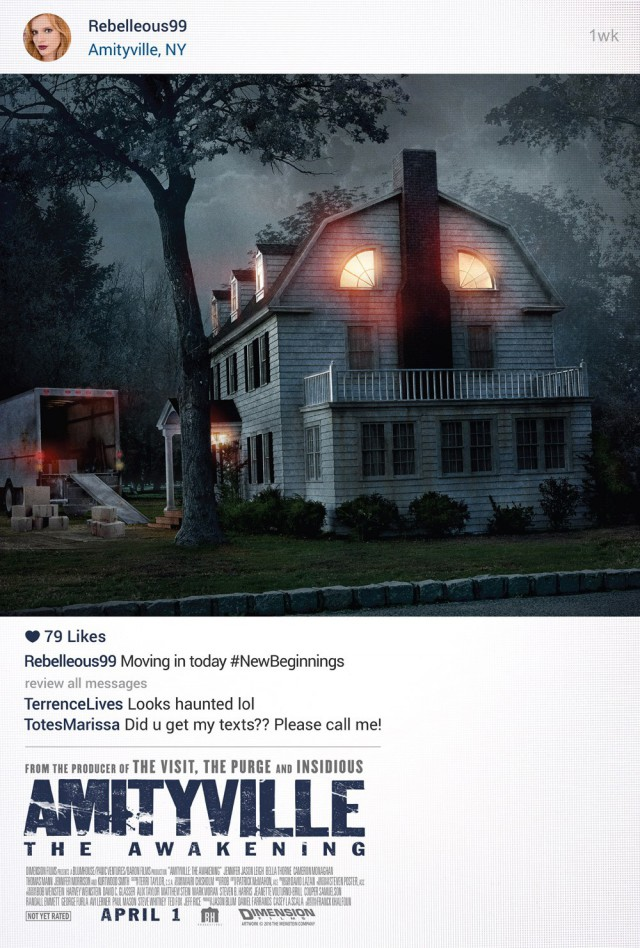 Amityville - The Awakening - US Teaser Poster