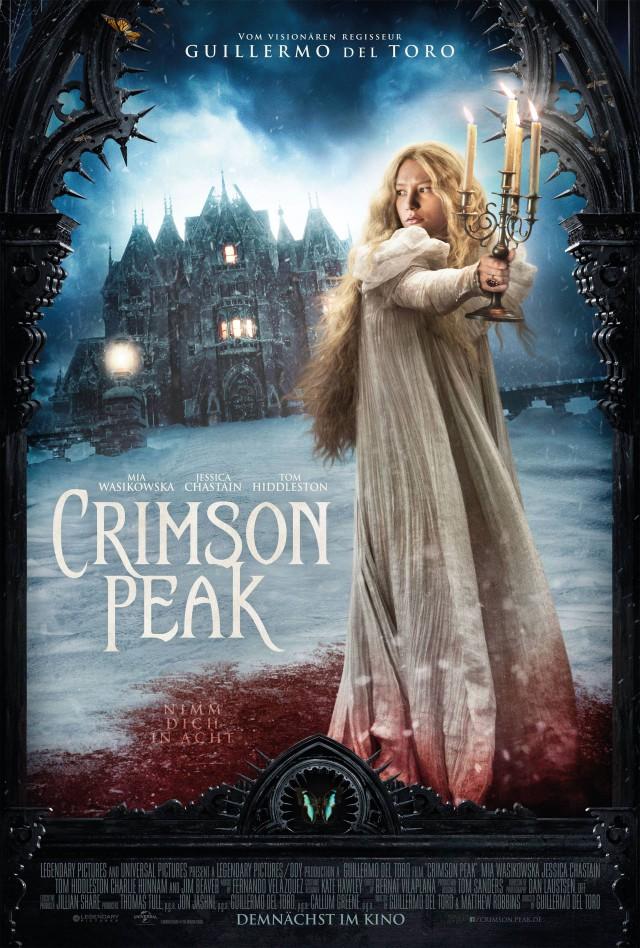 Crimson Peak - Deutsches Kinostart Poster
