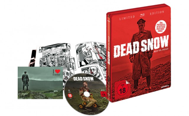 Dead Snow 2 - Red vs Dead - Limited Steelbook Edition