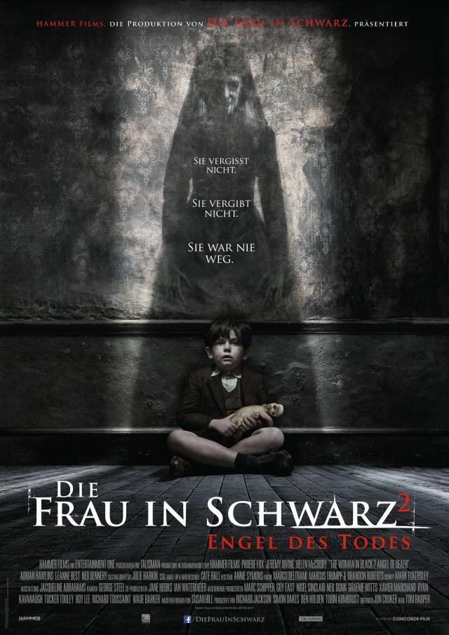 Die Frau in Schwarz 2 - Engel des Todes - Deutsches Kinoposter