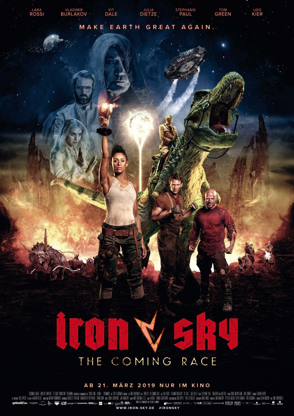 """Neuer deutscher Trailer und Kinoposter zu """"Iron Sky 2: The Coming Race"""""""