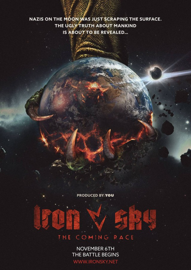 Iron Sky - The Coming Race - Teaser Poster