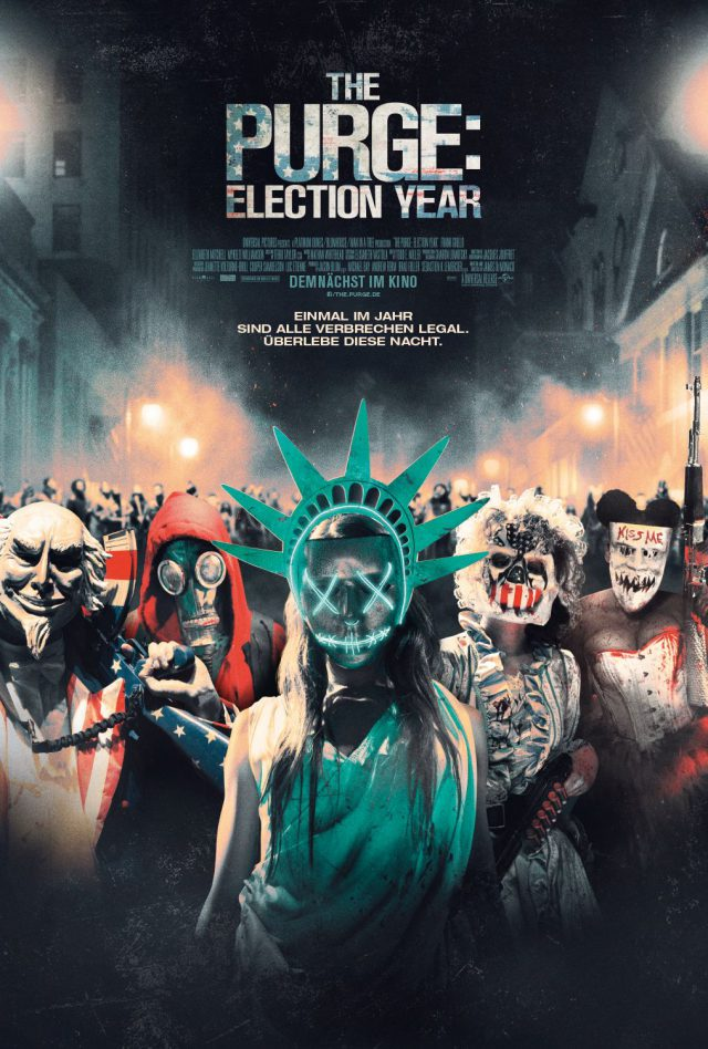 The Purge Election Year - Kinoposter