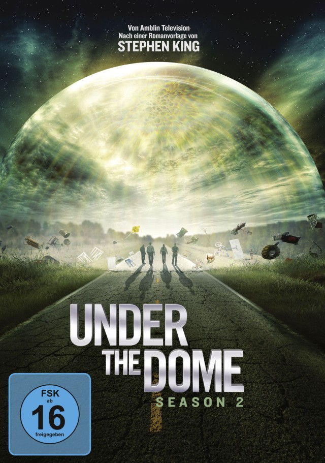 Under The Dome - Season 2 - DVD Cover FSK 16