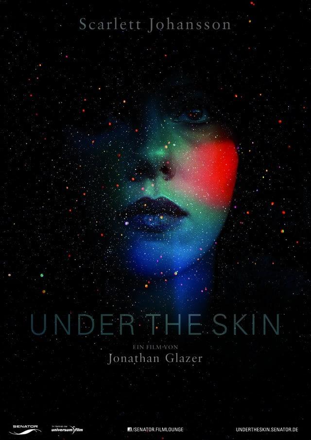 Under The Skin - limitiertes Glanzeffekt-Filmposter