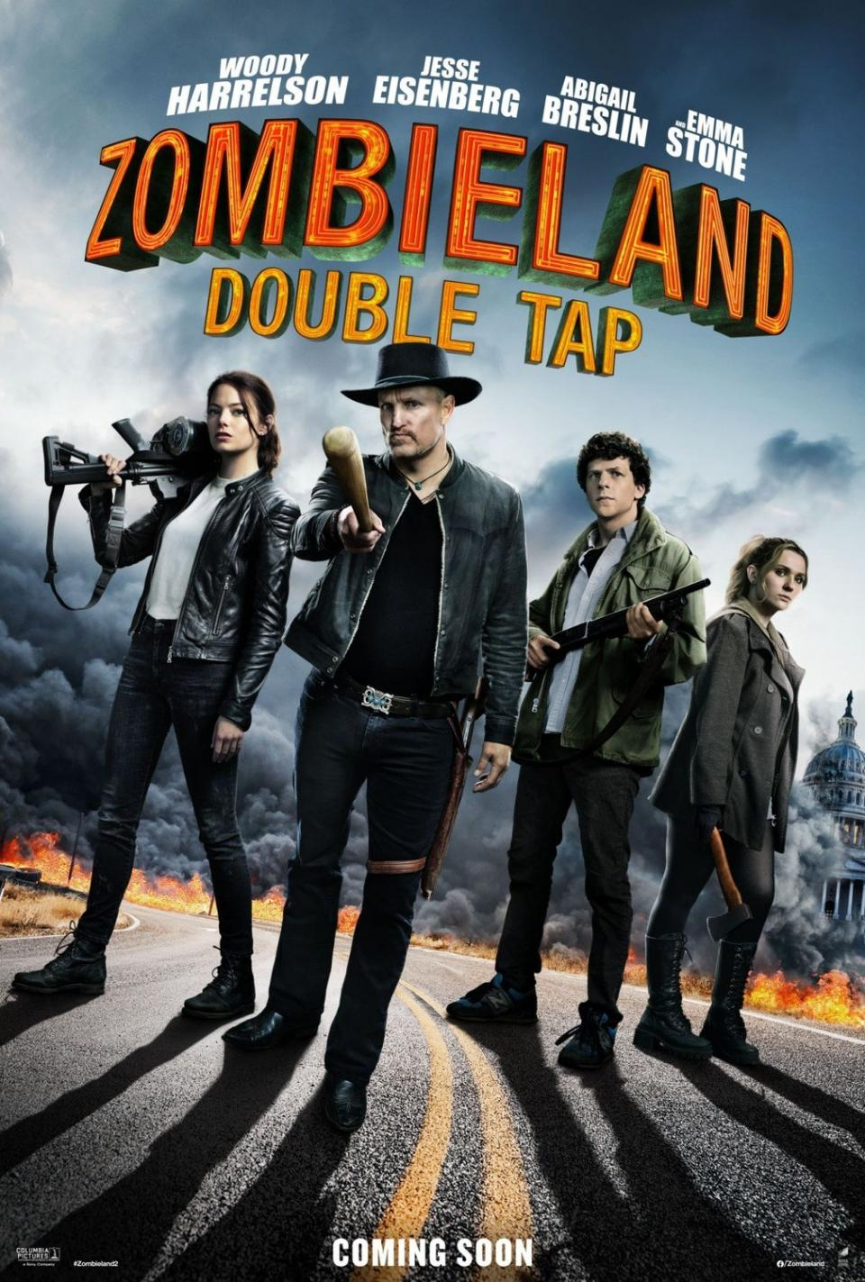 "Offizieller ""Zombieland 2"" Trailer lässt keine Fragen offen"
