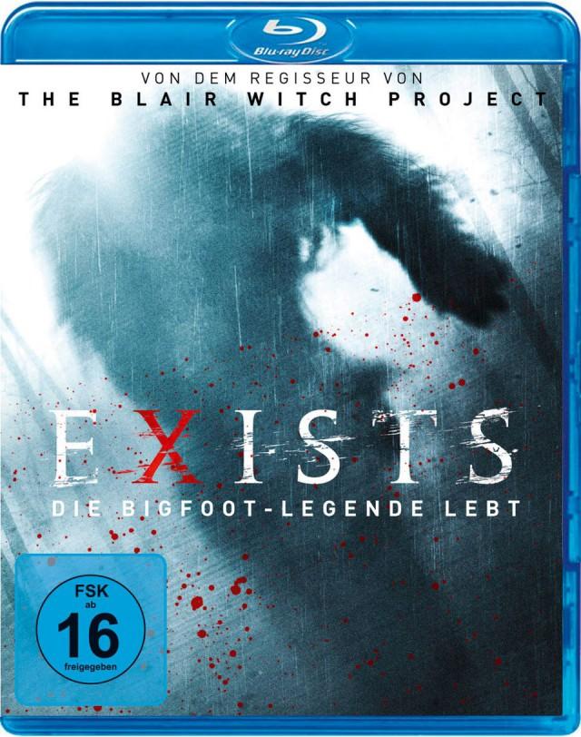 Exists - Die Bigfoot Legende Lebt - Blu-ray Cover FSK 16