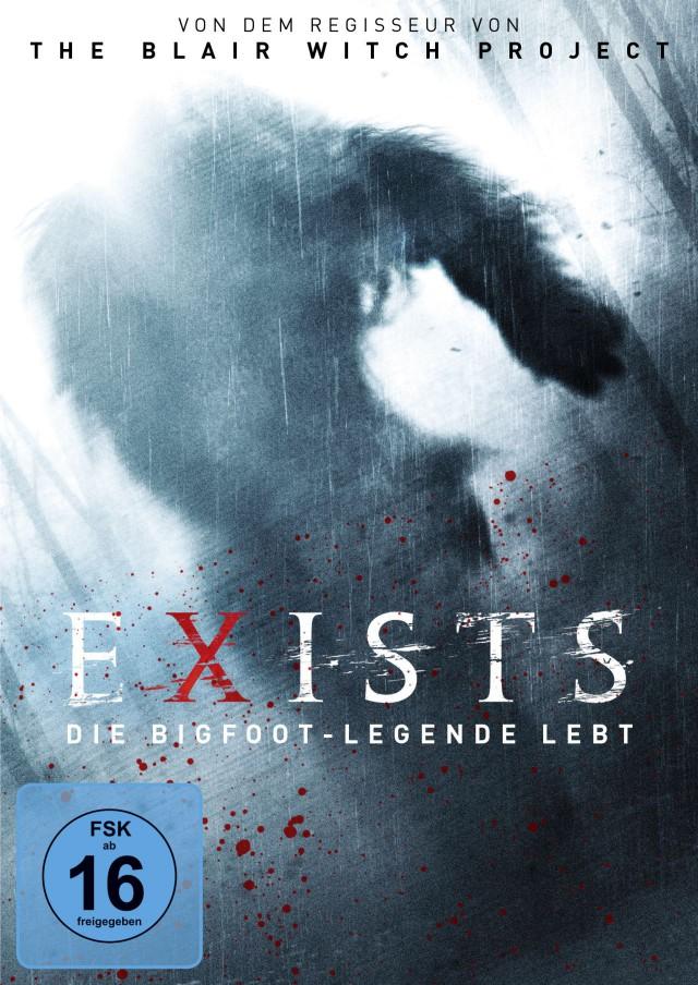 Exists - Die Bigfoot Legende Lebt - DVD Cover FSK 16