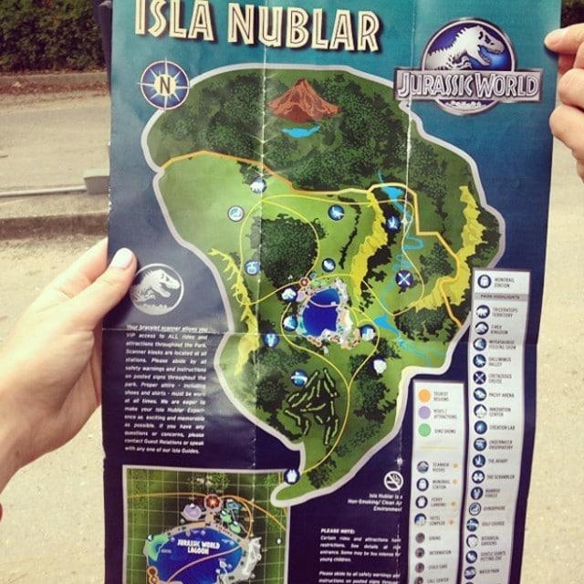 Jurassic Park Pläne Foto 5