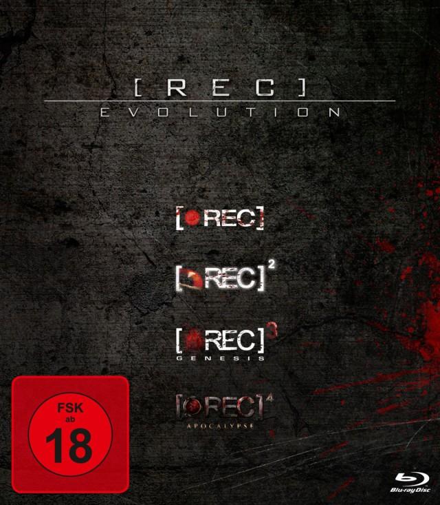Rec 1-4 Evolution Quadrilogy Box FSK 18 Cover
