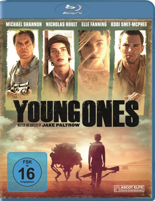 Young Ones - Blu-ray Cover
