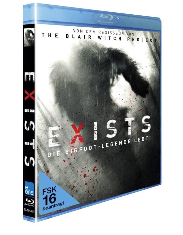 Exists - Die Bigfoot-Legende lebt - Vorab Cover Blu-ray FSK 16