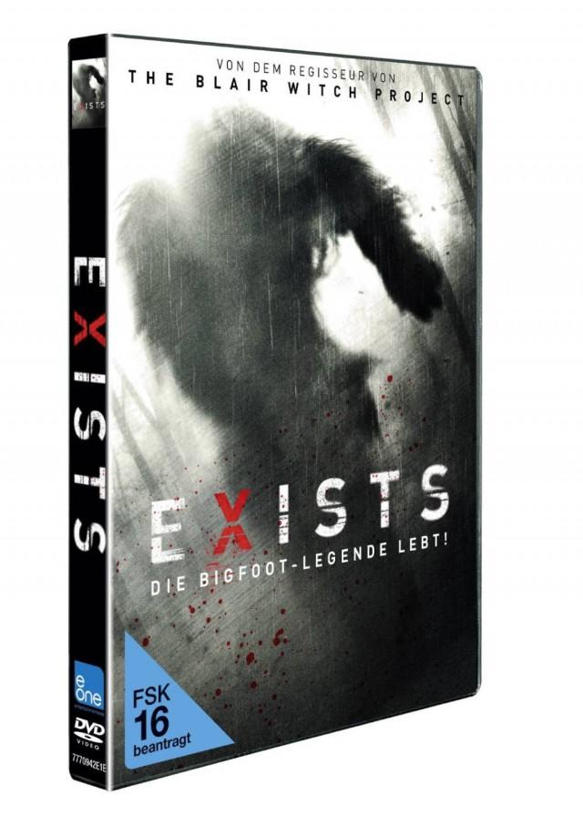 Exists - Die Bigfoot-Legende lebt - Vorab Cover DVD FSK 16