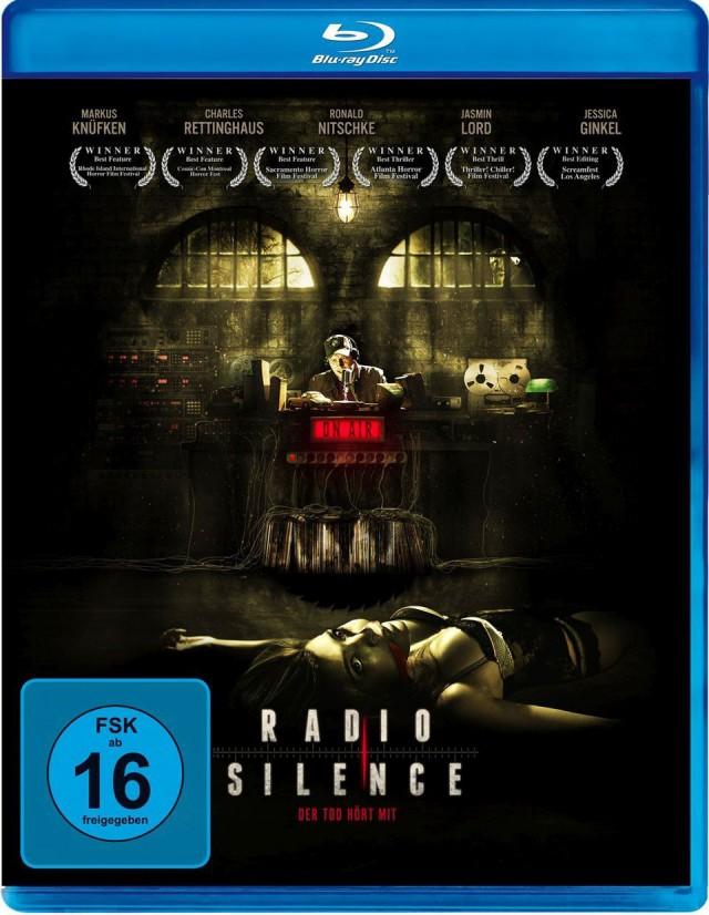 Radio Silence - Der Tod hört mit - Blu-ray Cover FSK 16