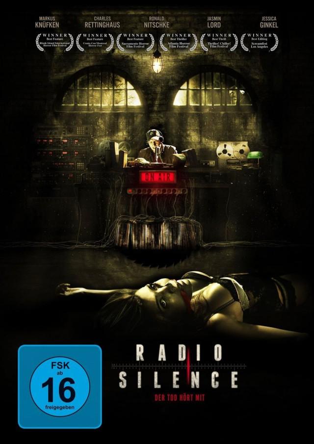 Radio Silence - Der Tod hört mit - DVD Cover FSK 16