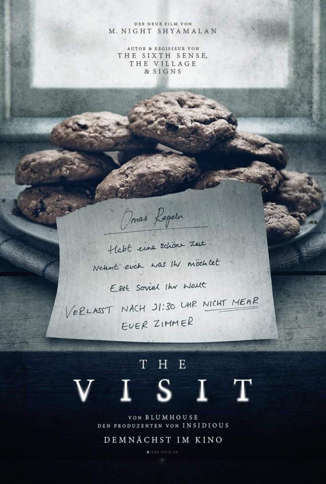 """Das Teaser Poster von """"The Visit"""" kündigt den deutschen Kinostart des Films in nächster Zeit an."""