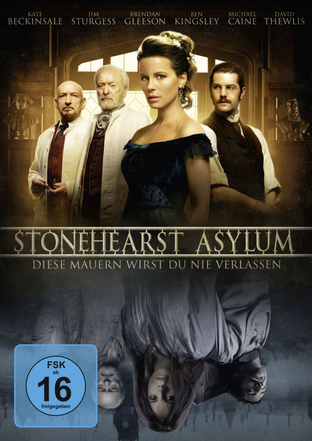 Stonehearst Asylum - Diese Mauern wirst Du nie verlassen - DVD Cover FSK 16