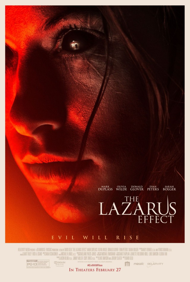 The Lazarus Effect - US Teaser Poster