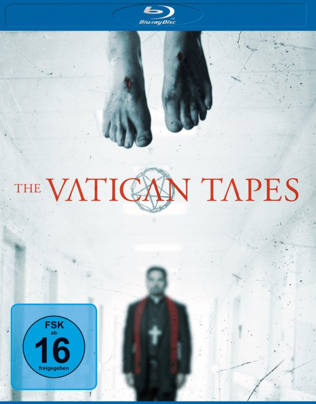 The Vatican Tapes - Blu-ray Cover FSK 16