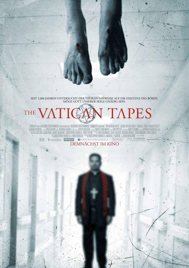 The Vatican Tapes - Deutsches Kinostart Poster