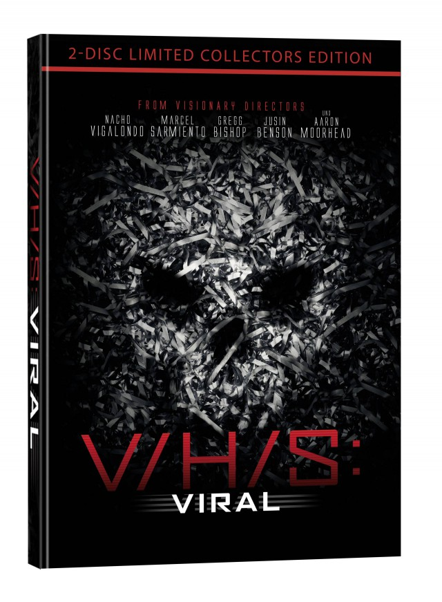 VHS Viral - 2-Disc Collectors Edition Mediabook Cover