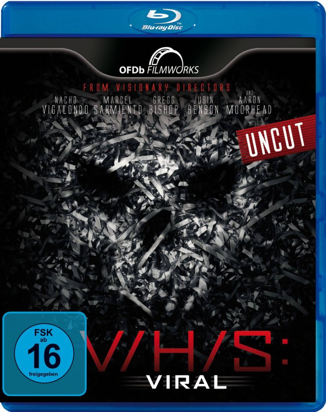 VHS Viral - Blu-ray Cover FSK 16 Uncut