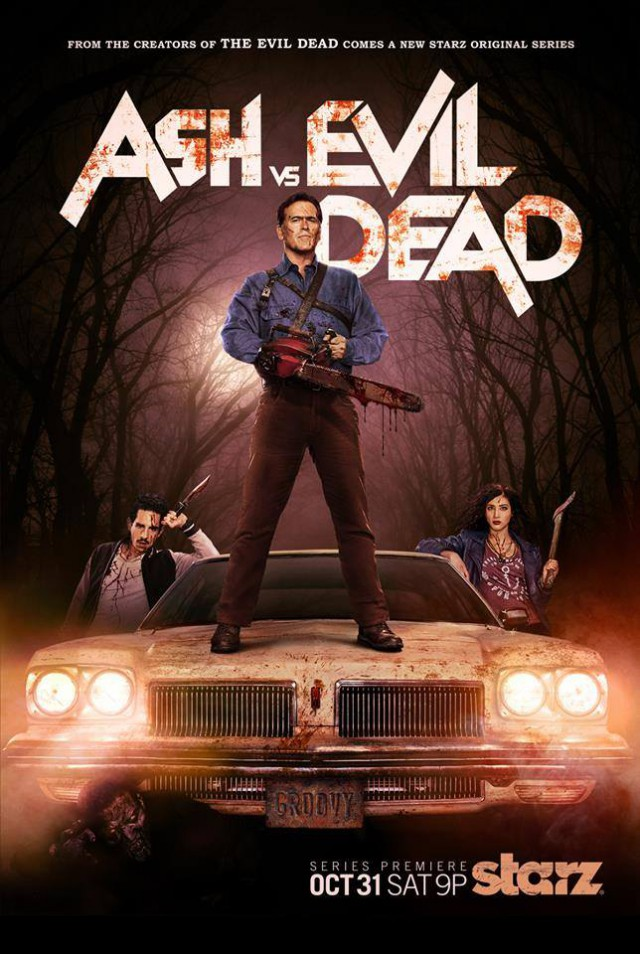 Ash Vs Evil Dead - Staffel 1 - Teaser Poster