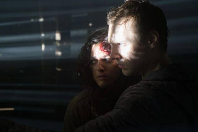 Lisa (Callie Hernandez) und James (James Allen McCune)