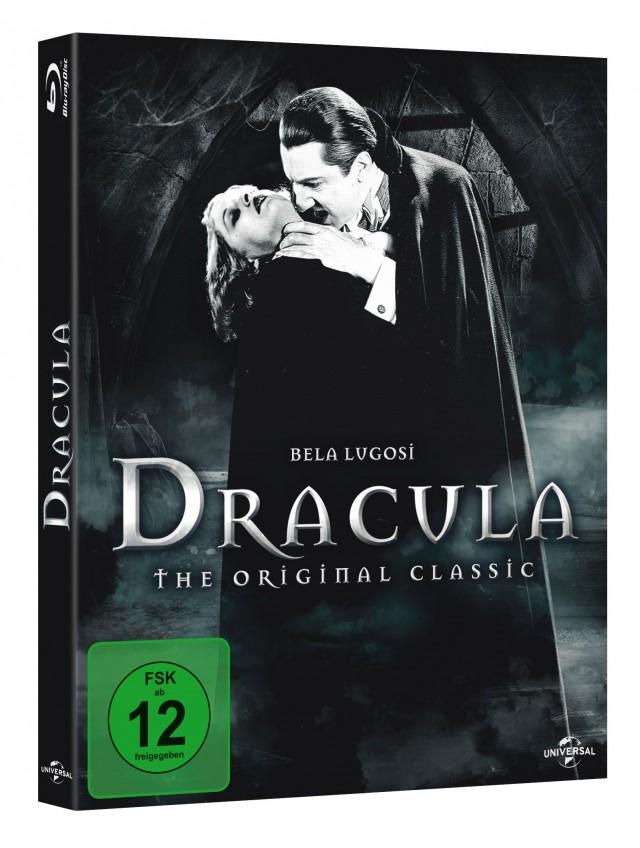 Blu-ray DRACULA Universal Horror mit Bela Lugosi