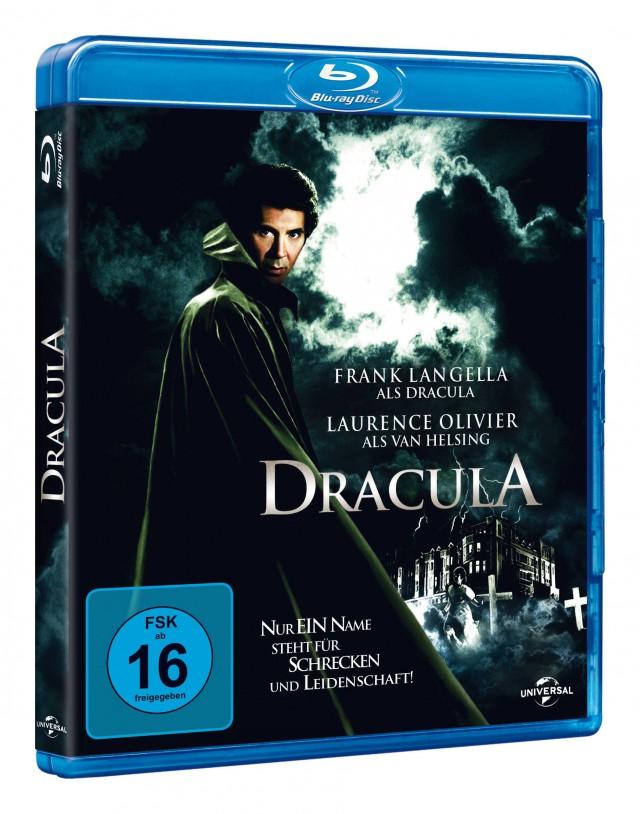 Blu-ray DRACULA mit Frank Langella und Laurence Olivier