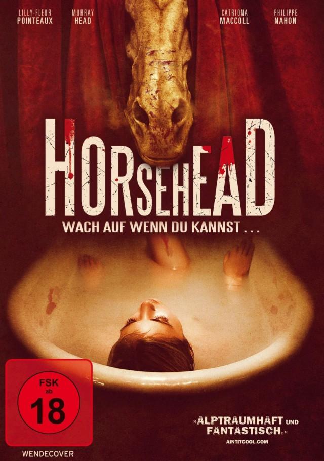 Horsehead - Wach auf, wenn du kannst - DVD Cover FSK 18