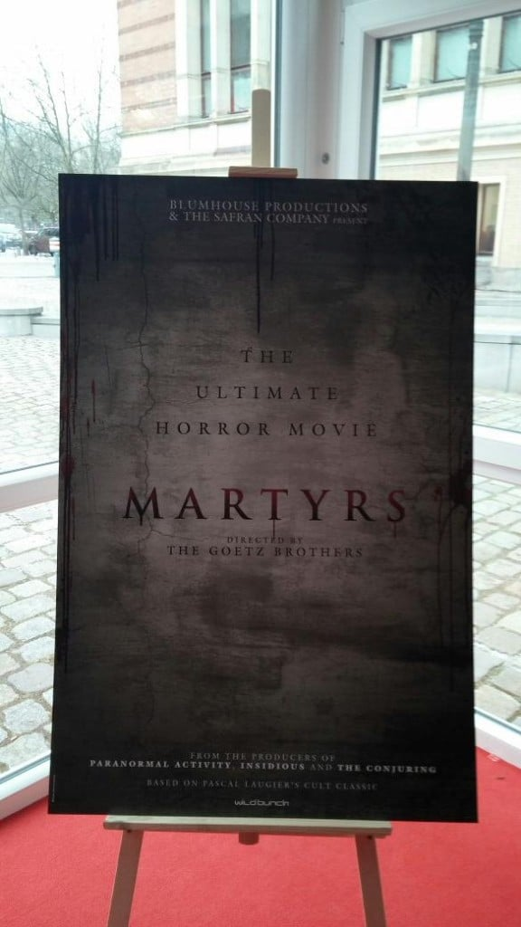Martyrs Remake Sales Artwork