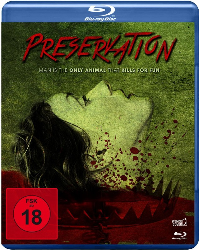 Preservation - Blu-ray Cover FSK 18