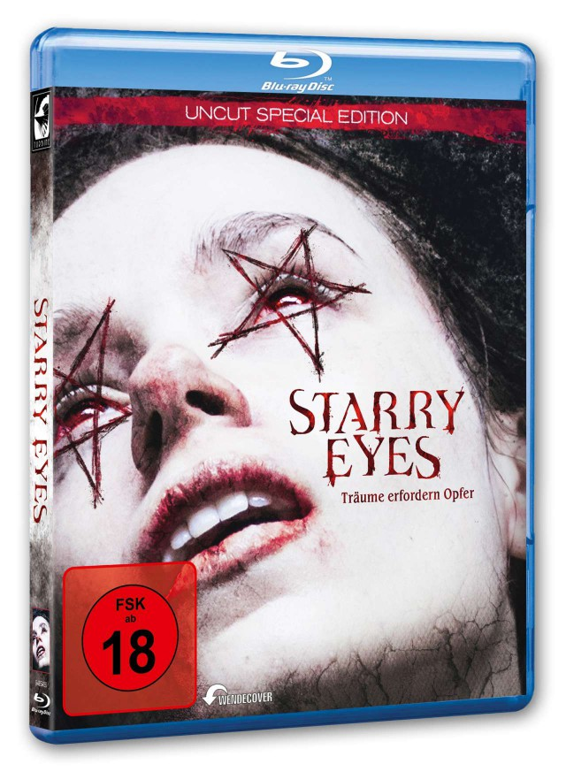 Starry Eyes - Blu-ray Cover FSK 18