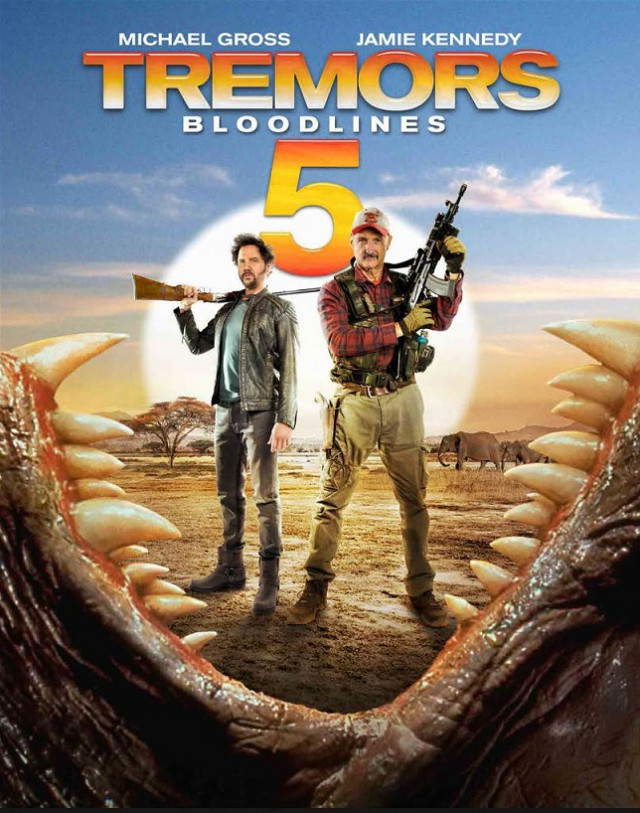 Tremors 5 - Bloodlines - Teaser Poster