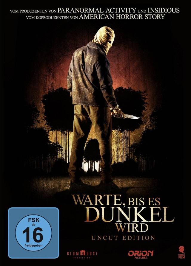 Warte bis es dunkel wird - DVD Cover Uncut Edition FSK 16
