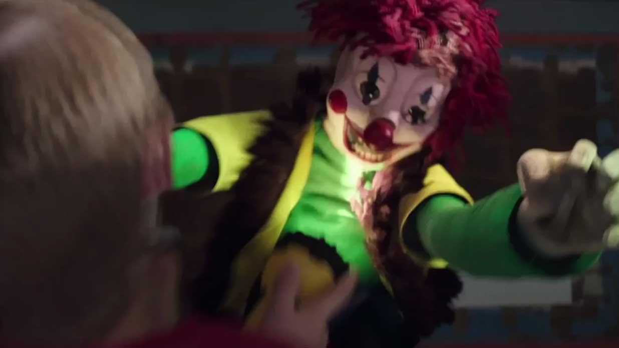 Der Poltergeist Clown Greift An Im 18 Sekunden Teaser Trailer