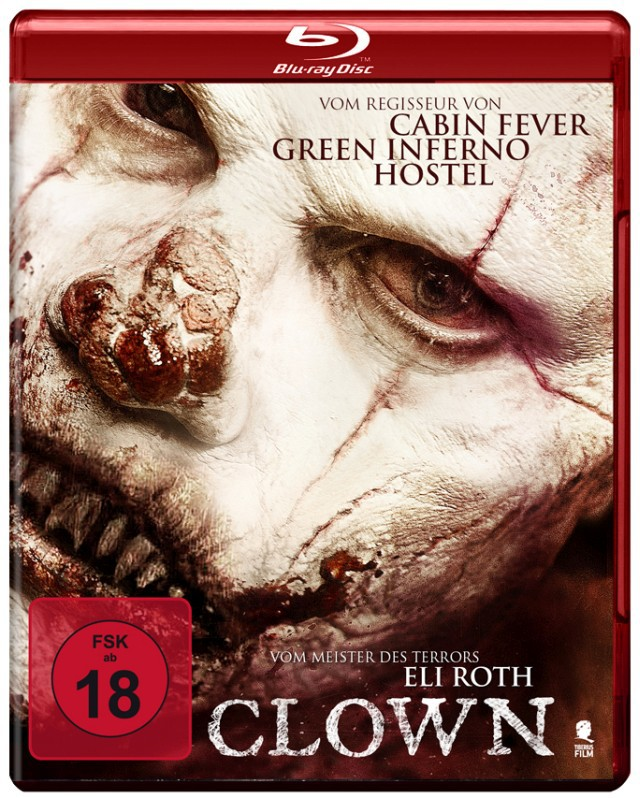 Clown - Blu-ray Cover FSK 18