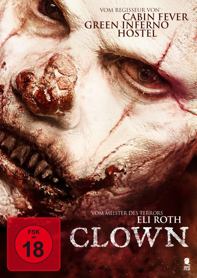 Clown - DVD Cover FSK 18