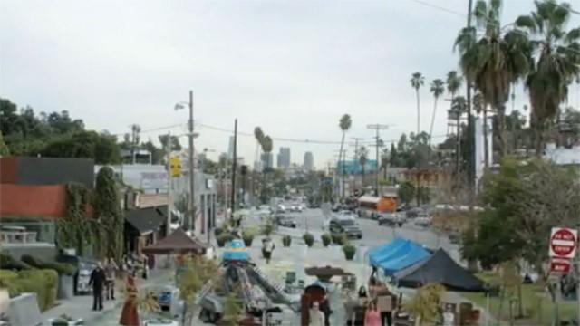 "LA wird infiziert im ersten ""Fear The Walking Dead"" Teaser Trailer"