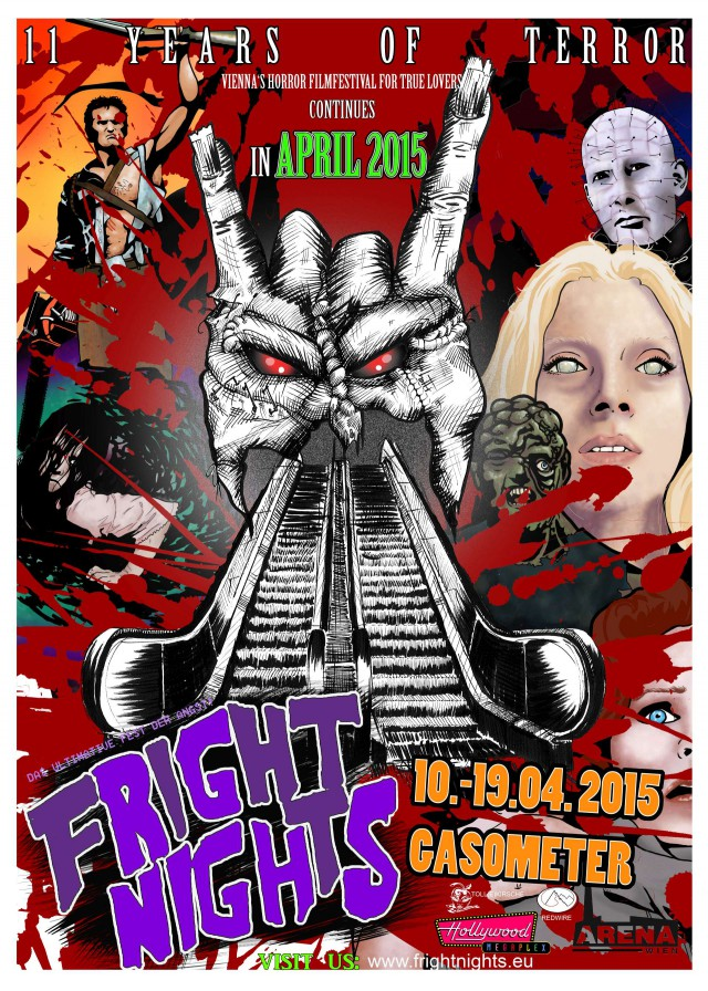 Fright Nights 2015 Poster
